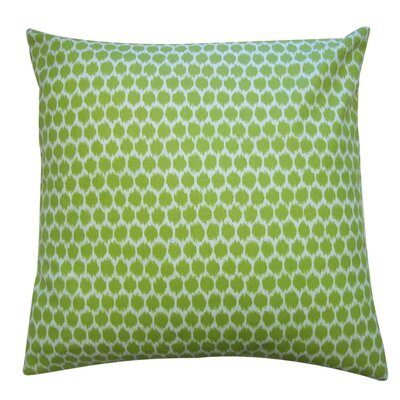Splotch Cotton Throw Pillow