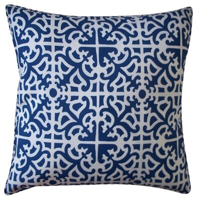 Malibu Throw Pillow Color: Blue