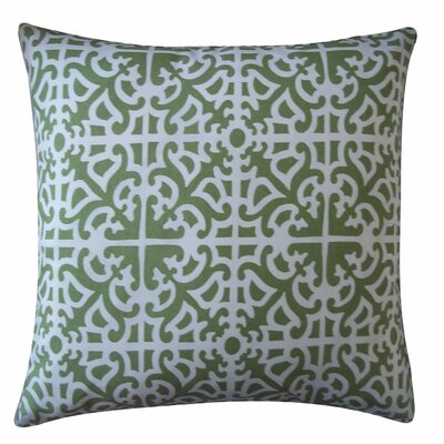 Malibu Throw Pillow Color: Green