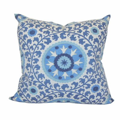 Tribal Cotton Throw Pillow Color: Sunset