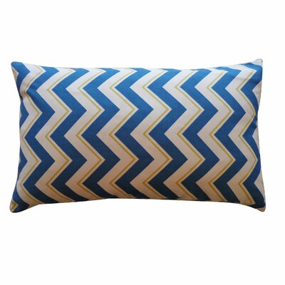 Alberta Cotton Pillow Color: Blue