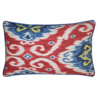 Kyllini Cotton Pillow Color: Red