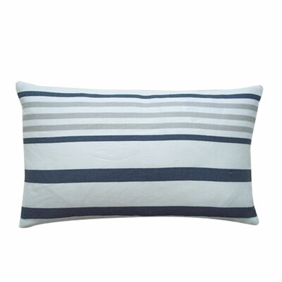 Ribbon Cotton Lumbar Pillow 1220_RIB_PEW