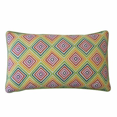 Cotton Lumbar Pillow Color: Multi