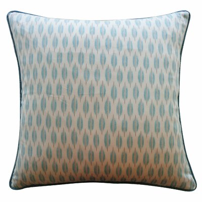 Arrow Cotton Throw Pillow Color: Aqua