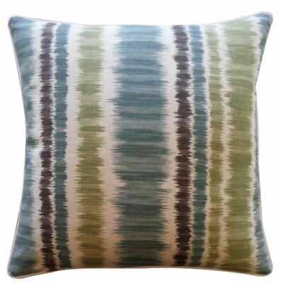 Carlos Cotton Throw Pillow Color: Blue