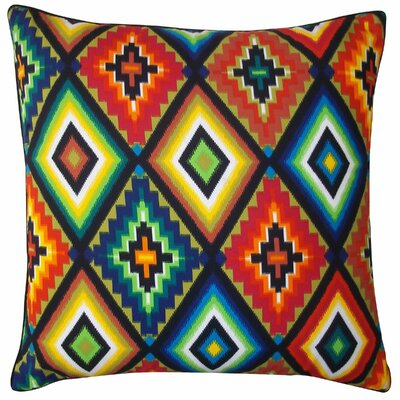 Aztec Cotton Throw Pillow