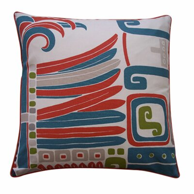 Kaleidoscope Cotton Throw Pillow