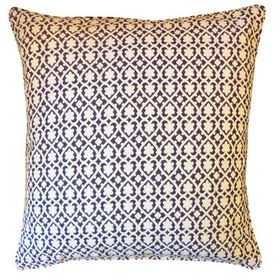 Speed Cotton Throw Pillow Color: Black