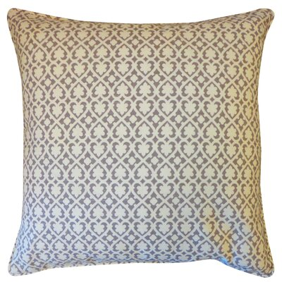 Speed Cotton Throw Pillow Color: Grey