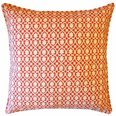 Speed Cotton Throw Pillow Color: Red