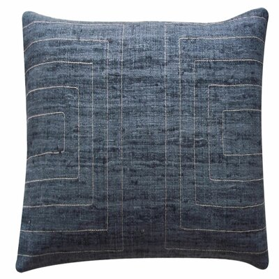 Streams Silk Throw Pillow