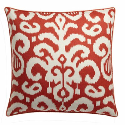Lauri Cotton Throw Pillow Color: Orange