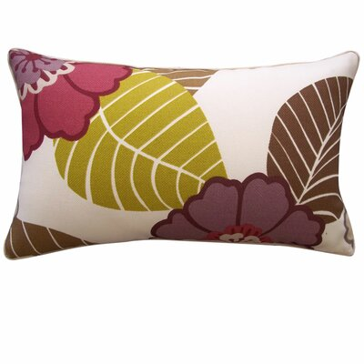 Dahlia Outdoor Lumbar Pillow