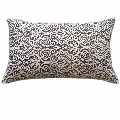 Jaipur Outdoor Lumbar Pillow Color: Black