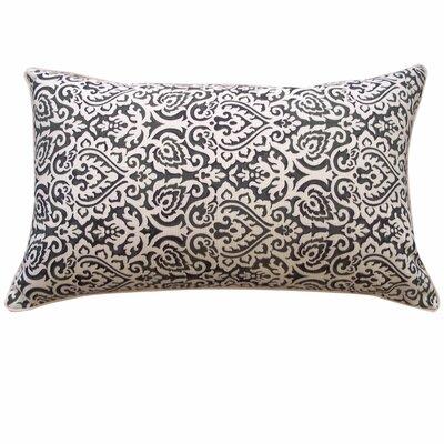 Jaipur Outdoor Lumbar Pillow Color: Black