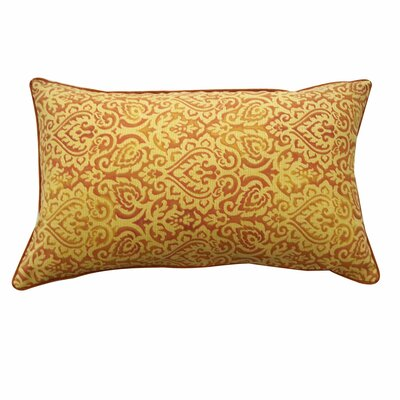 Jaipur Outdoor Lumbar Pillow Color: Orange