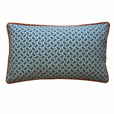 Pik Pak Outdoor Lumbar Pillow Color: Blue / Orange