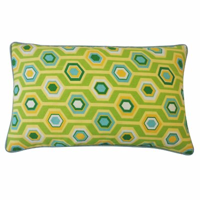 Recoleta Outdoor Lumbar Pillow Color: Green