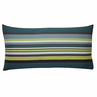 Aloe Stripes Outdoor Lumbar Pillow Size: 12 x 20