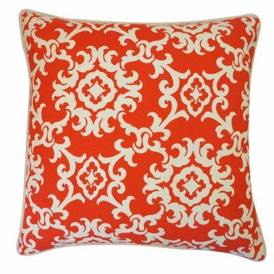 Alvin Outdoor Lumbar Pillow Color: Red