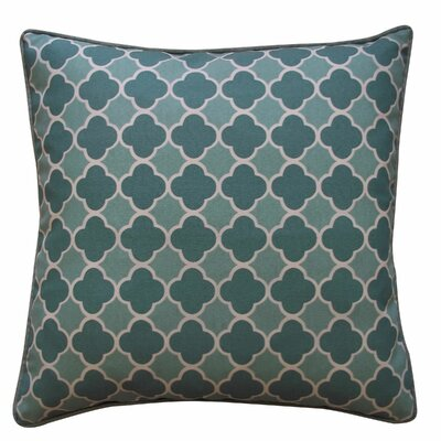 Bilbao Outdoor Throw Pillow Color: Green