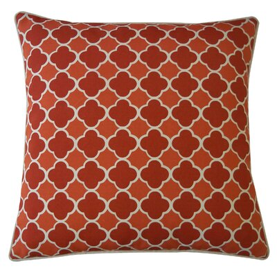 Bilbao Polyester Pillow Color: Red