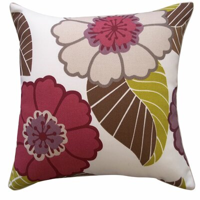 Dahlia Outdoor Throw Pillow