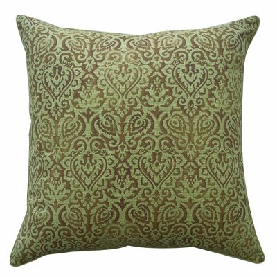 Jaipur Outdoor Throw Pillow Color: Green