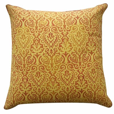 Jaipur Outdoor Throw Pillow Color: Orange