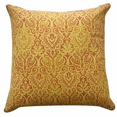 Jaipur Outdoor Throw Pillow Color: Orange