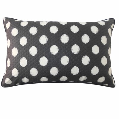 Spot Outdoor Lumbar Pillow Color: Black