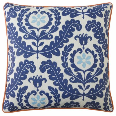 Shine Outdoor Throw Pillow Color: Blue