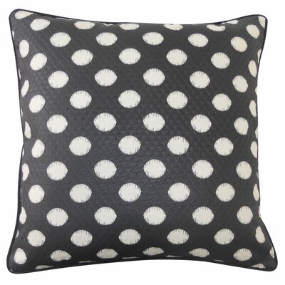 Spot Outdoor Throw Pillow Color: Black