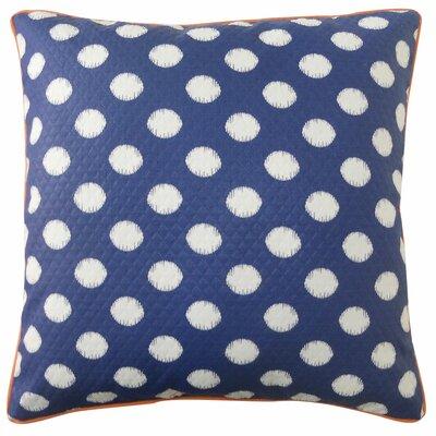 Spot Outdoor Throw Pillow Color: Blue