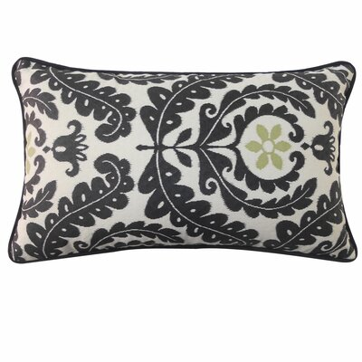 Shine Outdoor Lumbar Pillow Color: Black