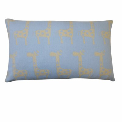 Kids Giraffe Outdoor Lumbar Pillow