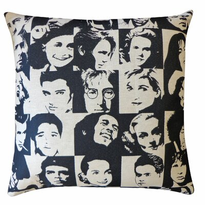 Icon Cotton Throw Pillow
