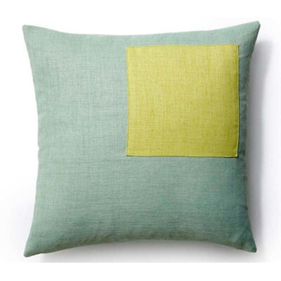 Rebel Outdoor Throw Pillow Color: Mint and Celery
