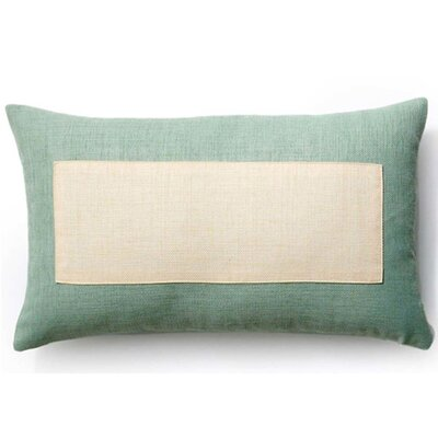 Rebel Window Indoor/Outdoor Lumbar Pillow Color: Vanilla and Mint