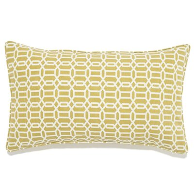 Mosaic Indoor/Outdoor Lumbar Pillow Color: Green