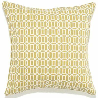 Mosaic Indoor/Outdoor Throw Pillow Color: Green