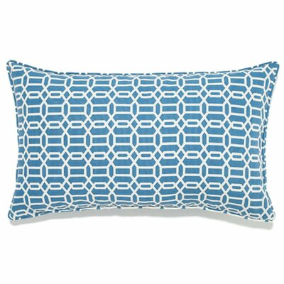 Mosaic Indoor/Outdoor Lumbar Pillow Color: Blue