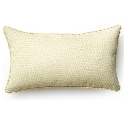 Cheetah Indoor/Outdoor Lumbar Pillow Color: Cream