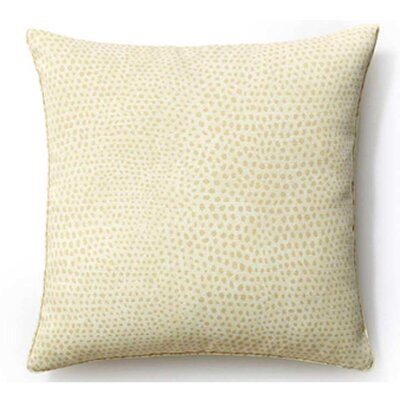 Cheetah Indoor/Outdoor Throw Pillow Color: Cream, Size: 20 x 20