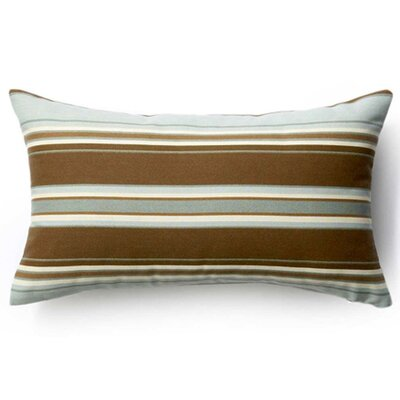 Thick Horizontal Stripes Indoor/Outdoor Lumbar Pillow Size: 12 x 20