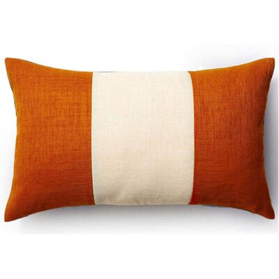 Rebel Outdoor Lumbar Pillow Color: Orange and Chocolate