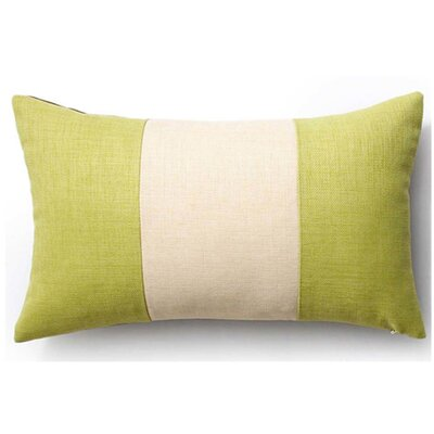 Rebel Outdoor Lumbar Pillow Color: Celery and Chocolate