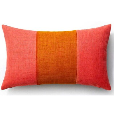 Rebel Outdoor Lumbar Pillow Color: Orange and Pink