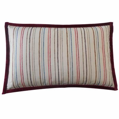 Alita Stripes Cotton Lumbar Pillow